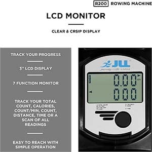 JLL R200 Rower LCD Monitor