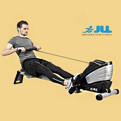 JLL R200 Rowing Machine - Man workout