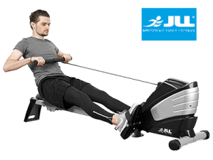 Workout with JLL R200 Rowing machine