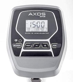 Kettler axos rower display monitor