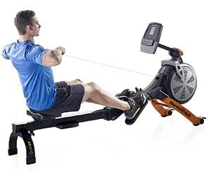 NordicTrack RX800 rower - Man working out
