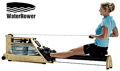 A1 WaterRower - Woman workout