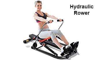 Hydraulic rowing machine - female workout (blog)