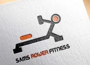 Sams Rower Fitness - Logo on Canvas
